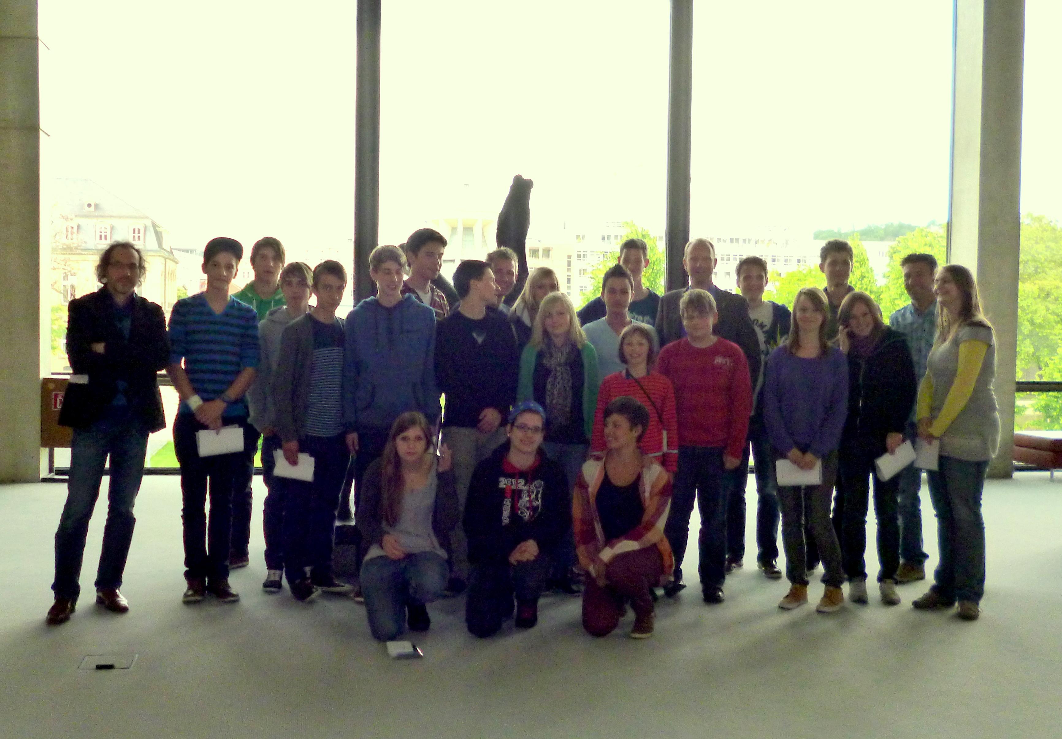 Besuch Martin-Gerbert-Gymnasium Horb