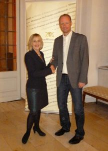 Claudia Gläser und Dr.Timm Kern