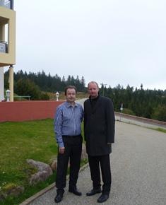 Heiko Fahrner und Dr.Timm Kern