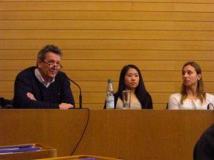 Günther Lohre, Kim Bui und Marie-Sophie Hindermann