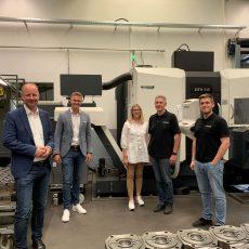 TImm Kern und Michael König CNC-Zerspanung Kreidler