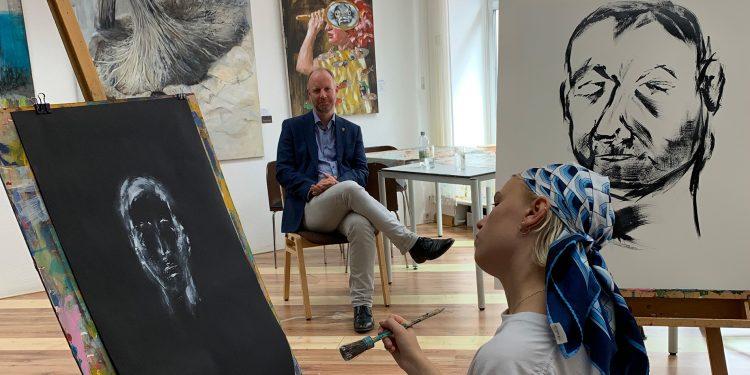 Musik- und Kunstschule portraitiert Timm Kern